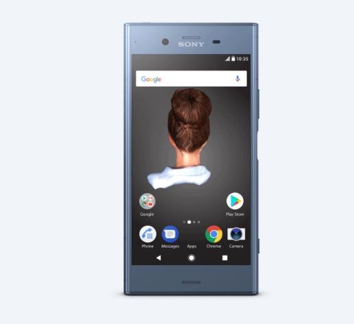 Xperia XZ1 Android 8.0.0 Oreo theme