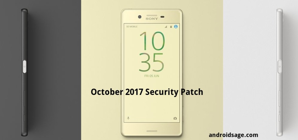 Download and install Sony Xperia X Compact Performance October 2017 Security Patch