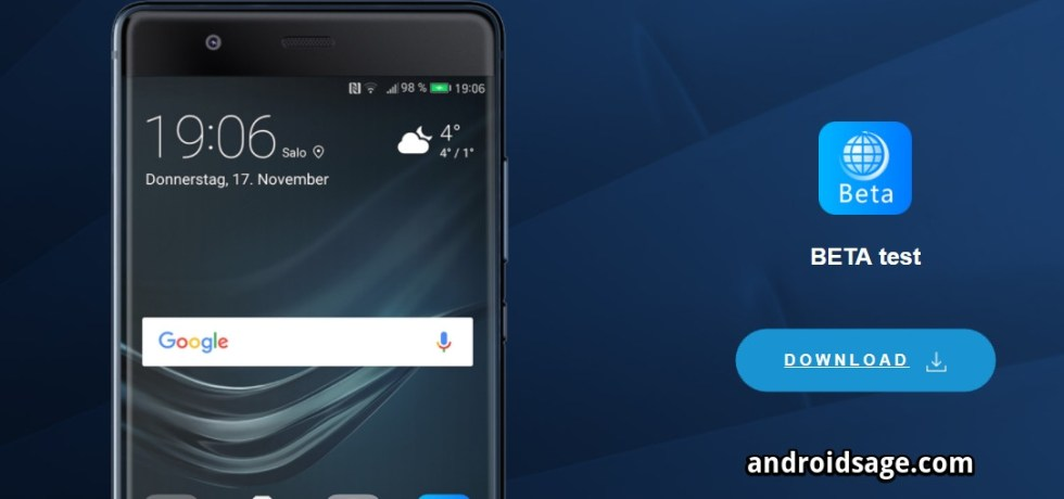 Huawei Android 9.0 Pie BETA test build APK download