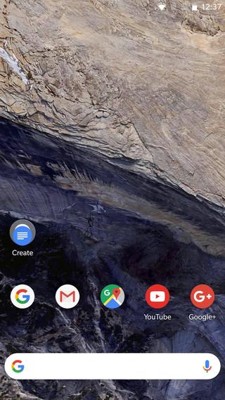 Pixel 2 Launcher icons adaptive icons