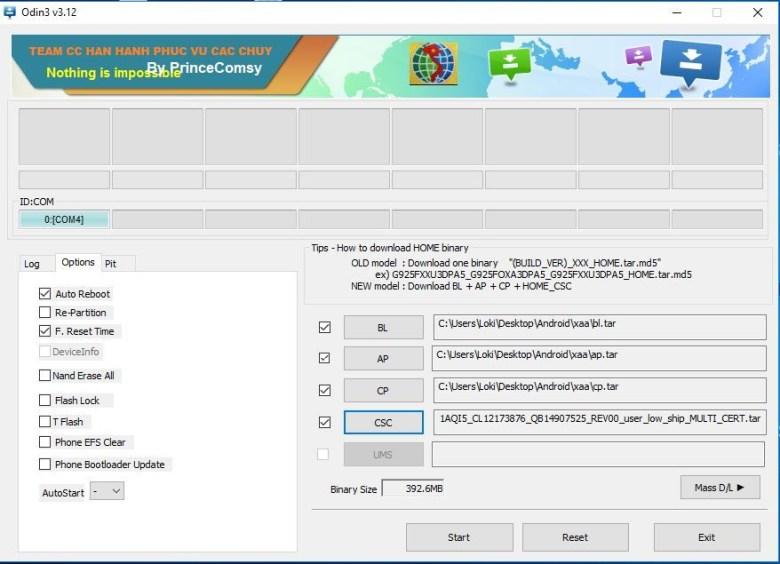 Root note 8 snapdragon usa variant sm n950u2