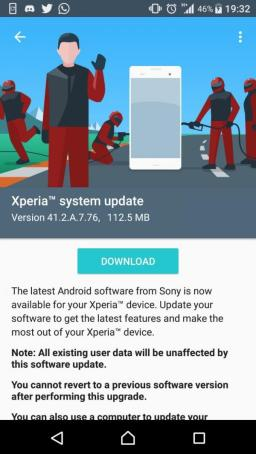 Sony Xperia X (Compact) (Performance) receive October 2017 Security Patch