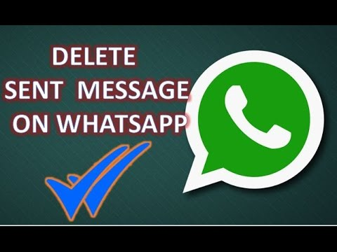 delete WhatsApp message from server for all recipients