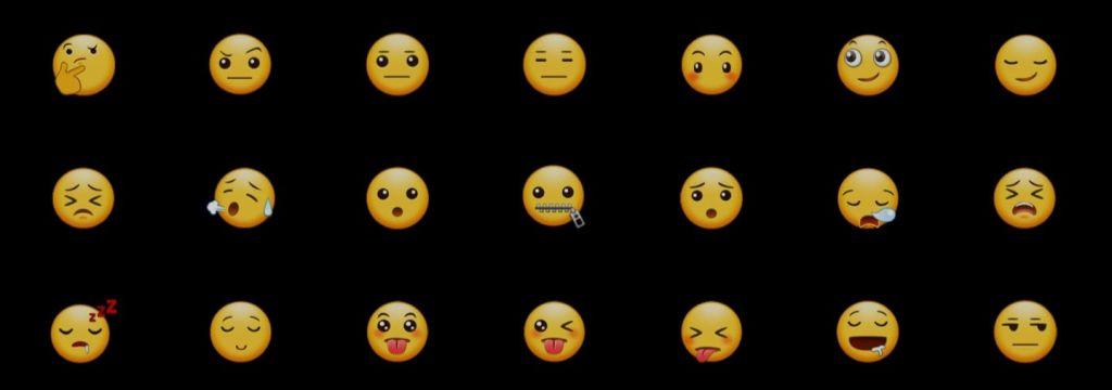 New emoji with samsung experience 9.0