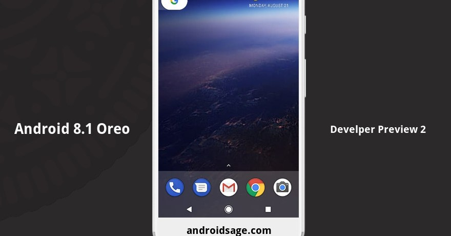 final Android 8.1 Oreo Developer Preview 2