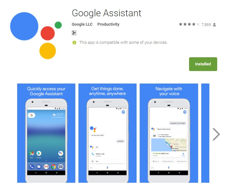 Google Assistant Android Apps on Google Play