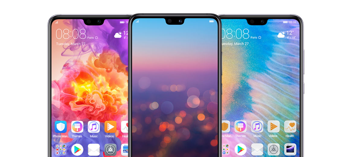 Huawei P20 Pro Download stock Themes and Wallpapers