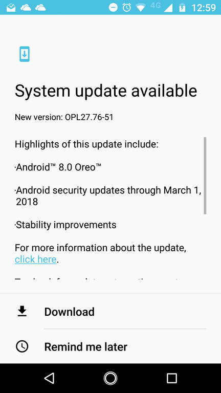 Moto Z receives official Android 8.0 Oreo