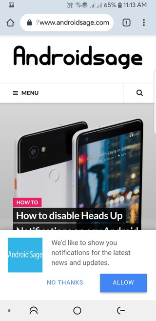 Google Chrome Beta for Android gets Material Design 2