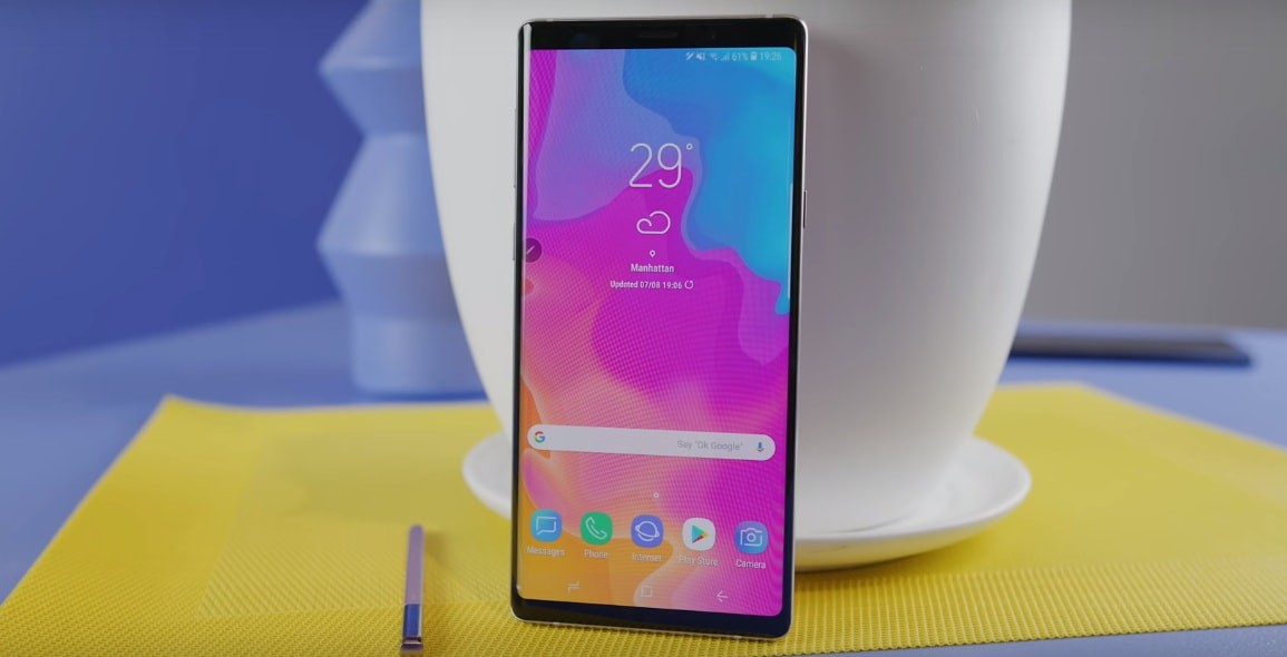 Download Samsung Galaxy Note 9 Launcher APK Samsung Experience TouchWiz Home