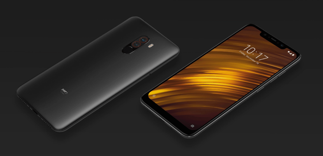 Xiaomi POCO F1 Phone Download Launcher and stock wallpapers