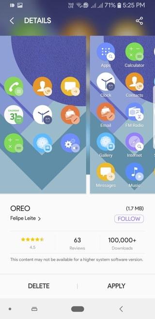 Oreo icon packs Screenshot_20180914-172505_Samsung Themes
