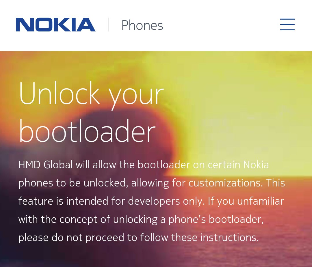 Unlock Bootloader on Nokia phones