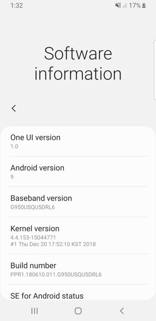 One UI Galaxy S8 S8 plus Note 8 Screenshot 4