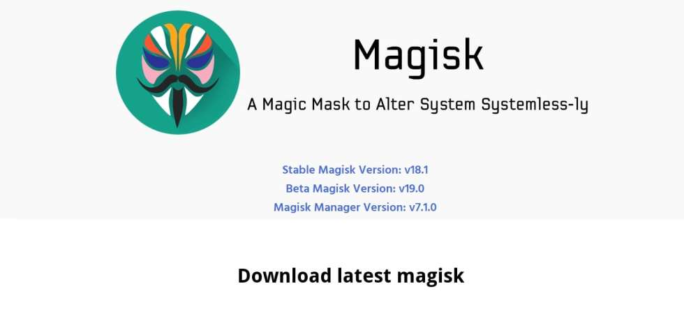 Download Latest Magisk 19 Beta for Android Q or earlier