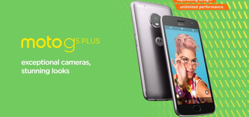 Moto G5 and G5 Plus latest OTA update