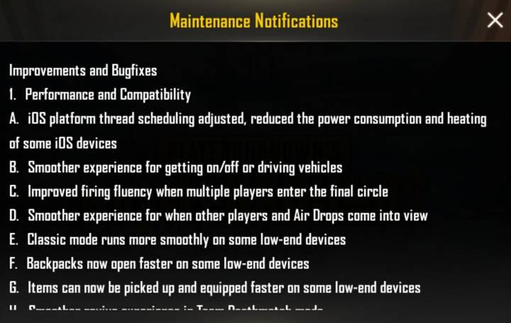 Screenshot PUBG MOBILE 0.14 update (5)