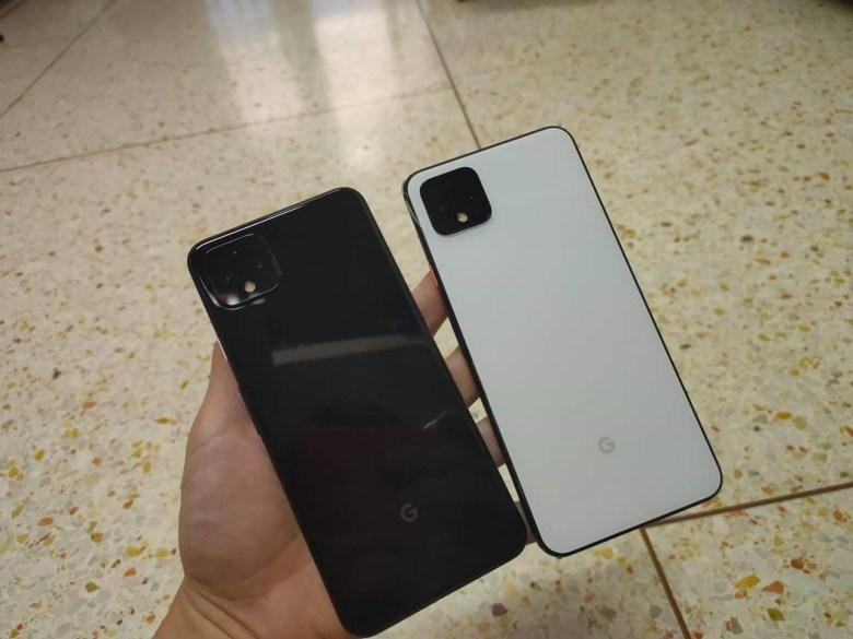 Google Pixel 4 XL back