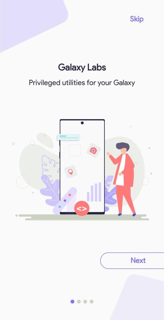 Samsung Galaxy Labs screenshots 2