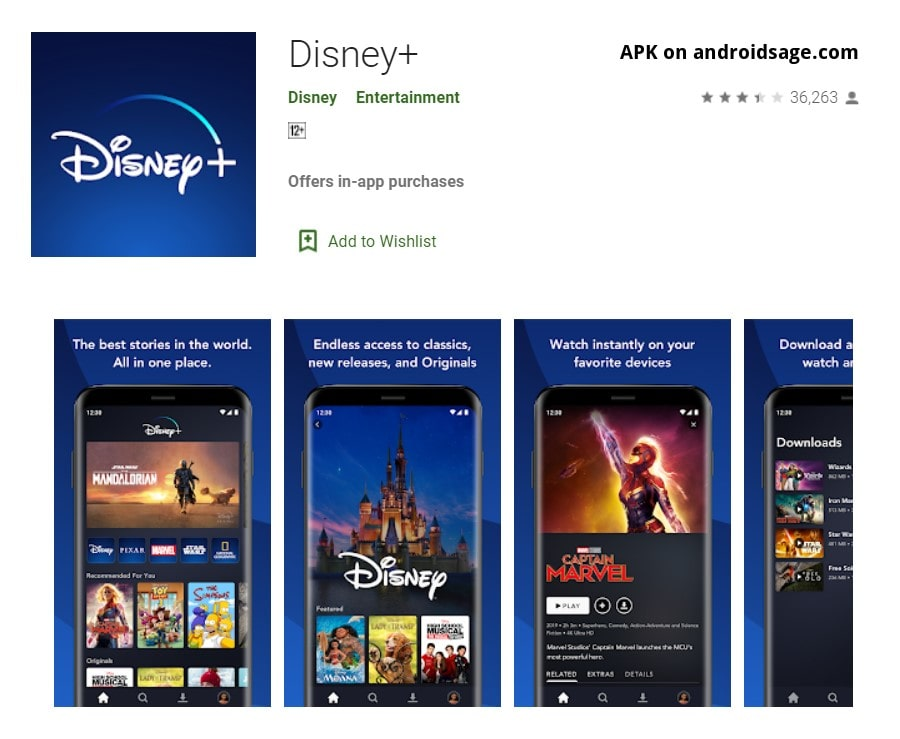 download latest Disney+ APK for all Android phones, tablets, TVs, and smart boxes-min
