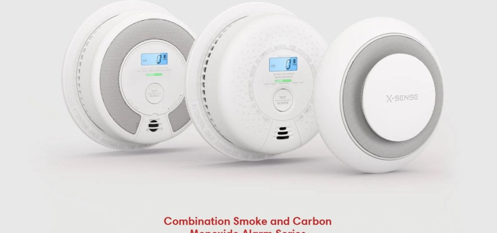X-Sense Smoke detectors, Carbon Monoxide Detector, and combination alarms