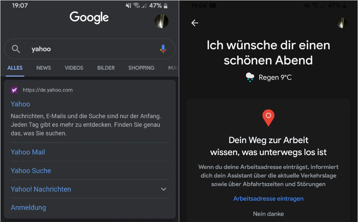 Download latest Google Search and Google Assistant Dark Mode APK