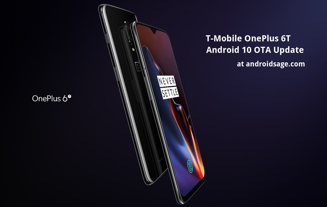T Mobile OnePlus 6T Android 10 oTA update based on Oxygen OS 10 min