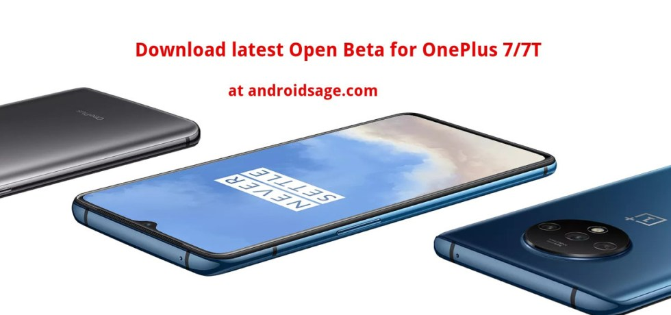 Download latest Open Beta update for OnePlus 7T and 7T Pro