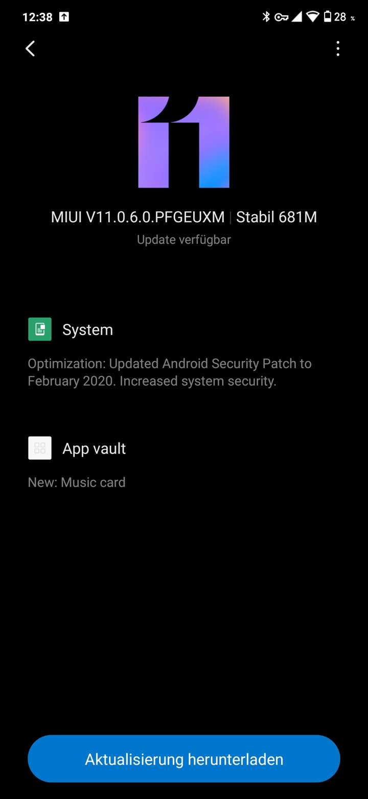 Xiaomi Redmi Note 7 latest MIUI 11.0.6.0 OTA update download