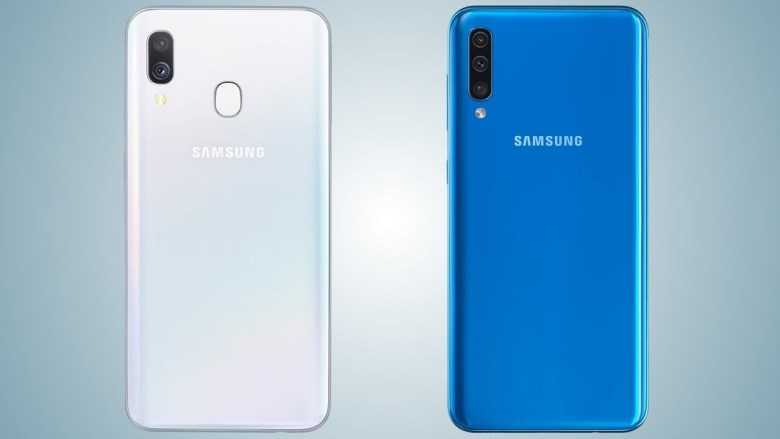 Galaxy A40 and A50