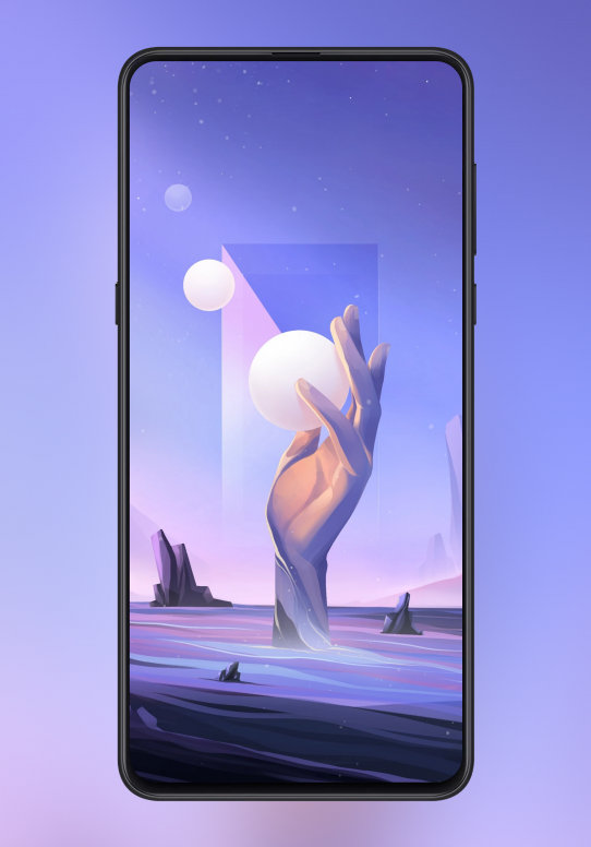 MIUI 12 Touch Your Dreams And Feel The Truth Poster Wallpaper
