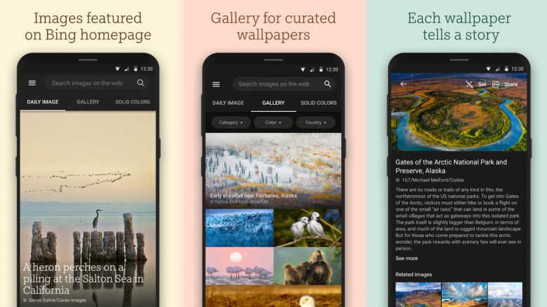 Bing Wallpapers APK download