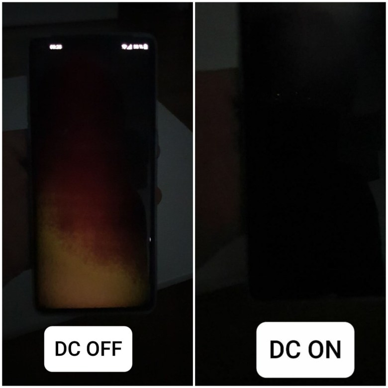 DC dimming OFF green tint fix 2