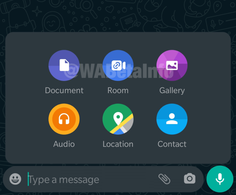Messenger rooms in whatsapp apk download