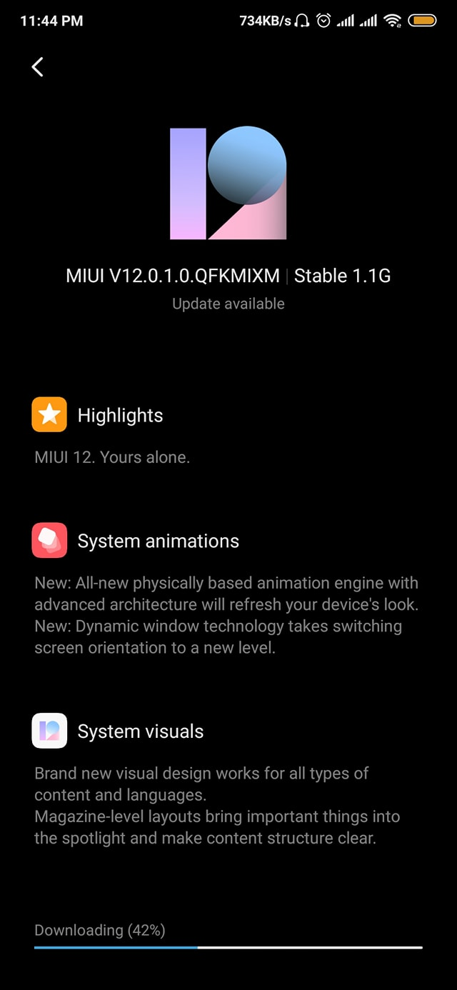 Mi 9T Pro or K20 Pro MIUI 12 global stable ROM