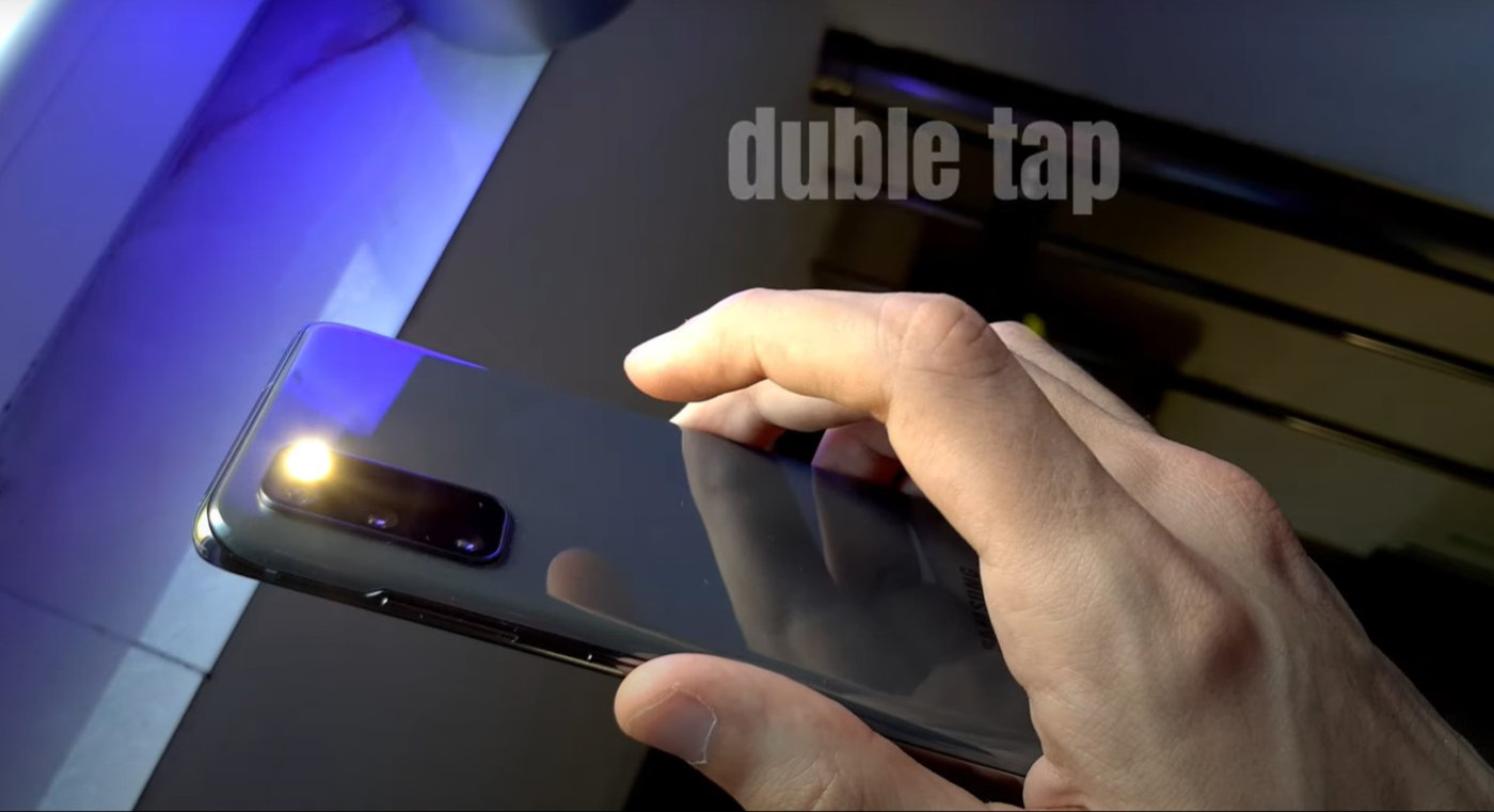 Android 11 Back Tap Gesture for any Android phone