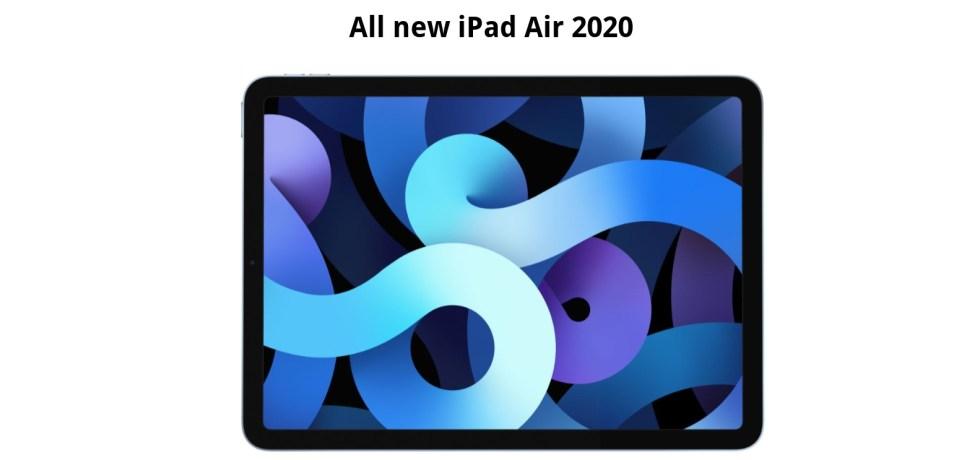 Apple iPad Air 2020 wallpapers