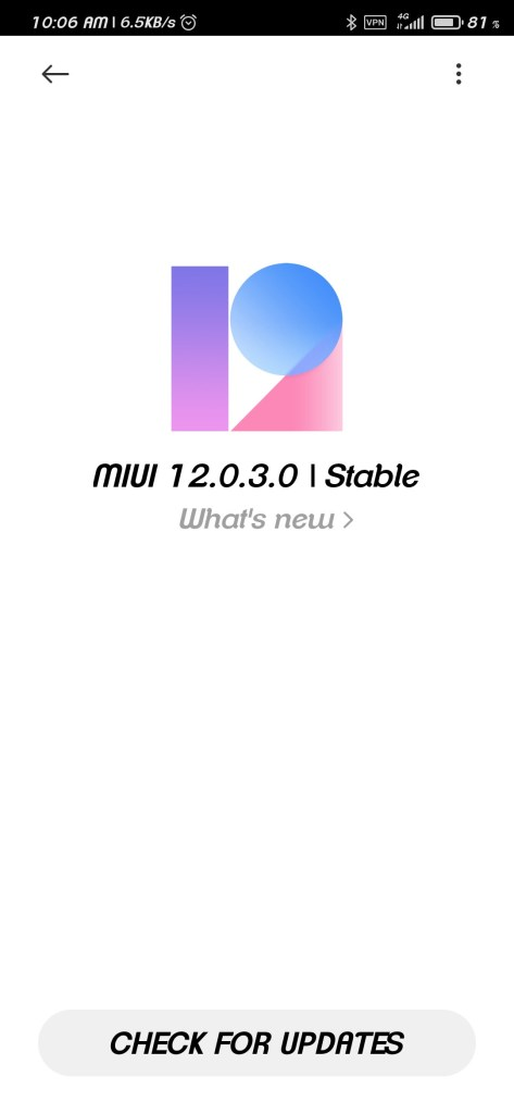 Download MIUI 12.0.3.0 Global ROM for Xiaomi Redmi Note 8 Pro