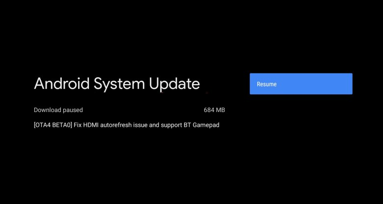 Mi Box S or 4K new OTA 4 beta 0 based on Android 9 Pie