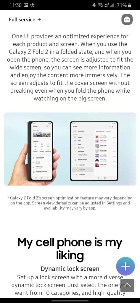 One UI 3.0 features screenshot 3