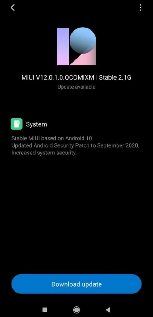 Redmi Note 8 gets MIUI 12.0.1.0 Global Stable ROM