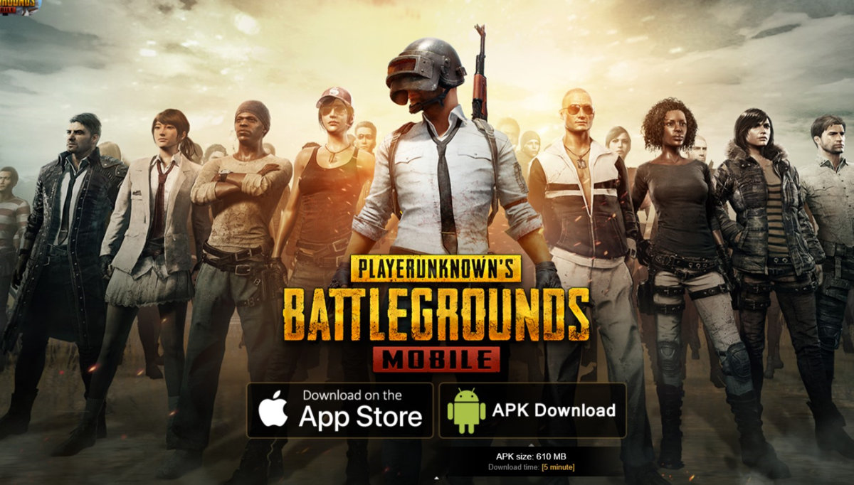 Download Latest PUBG MOBILE 1.2 APK Download Link now live