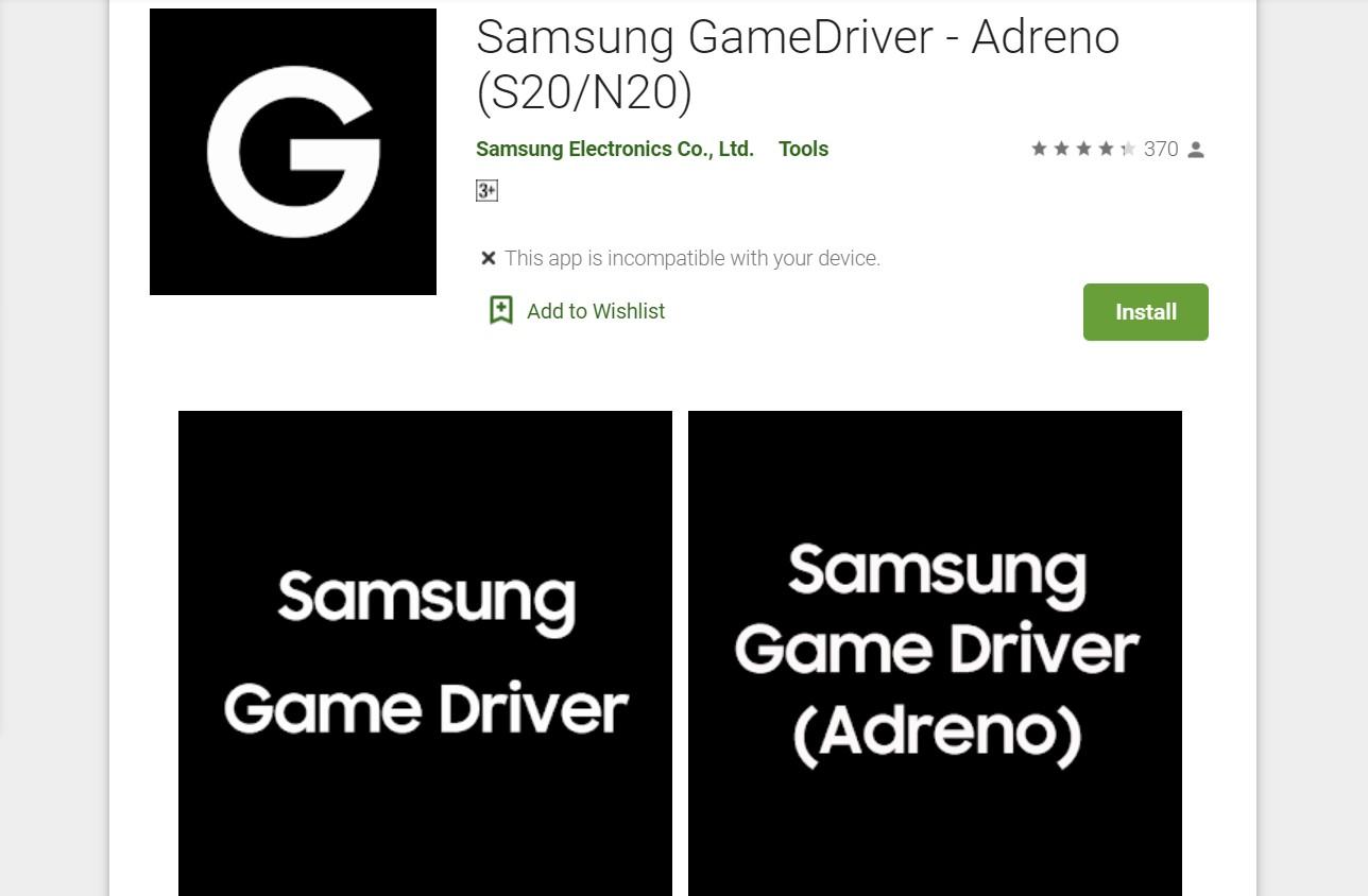 Samsung GameDriver - Adreno (S20_N20)