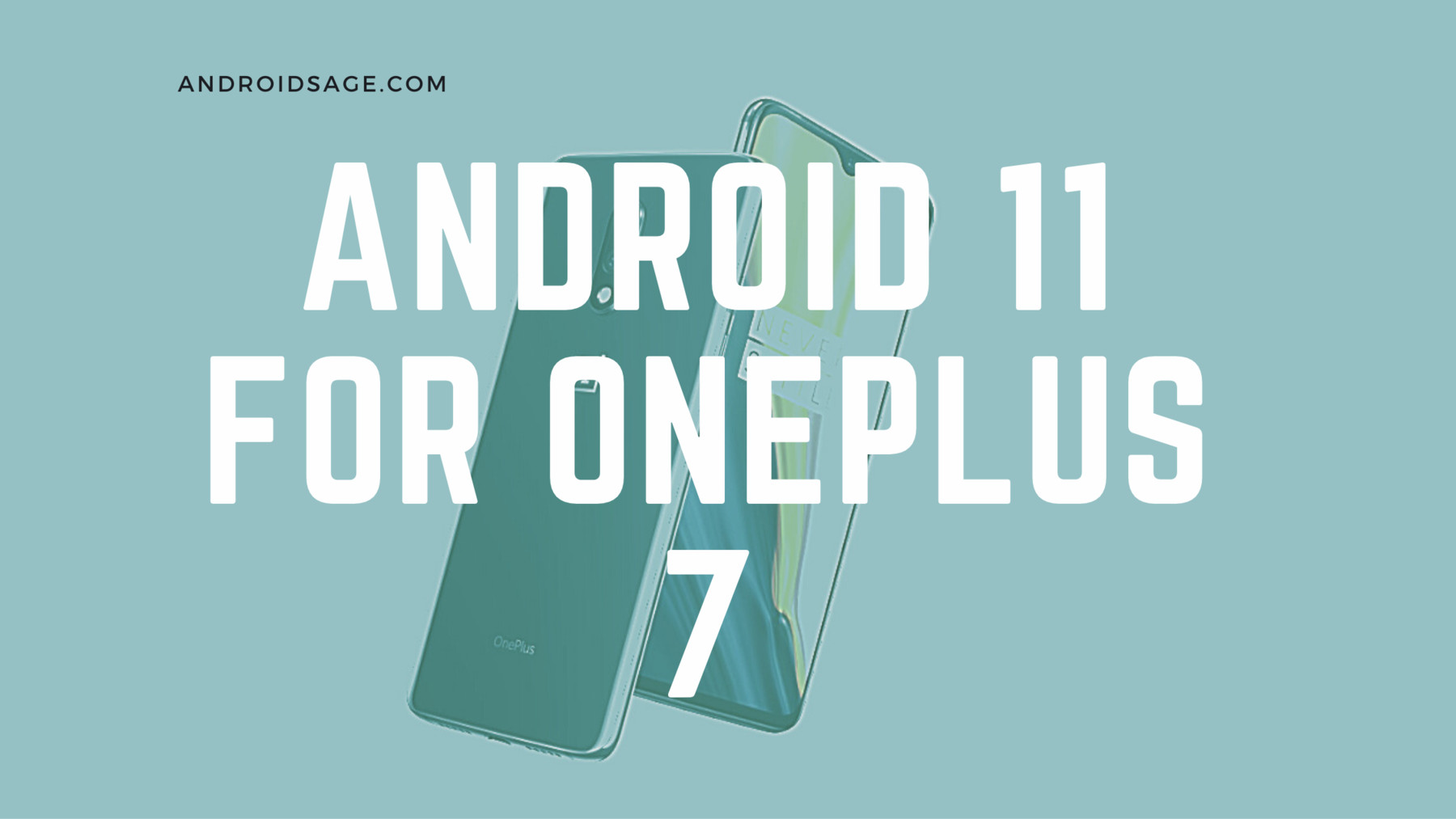 Android 11 for OnePlus 7 series