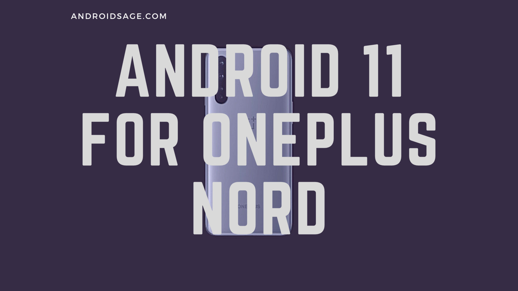 Android 11 for OnePlus Nord