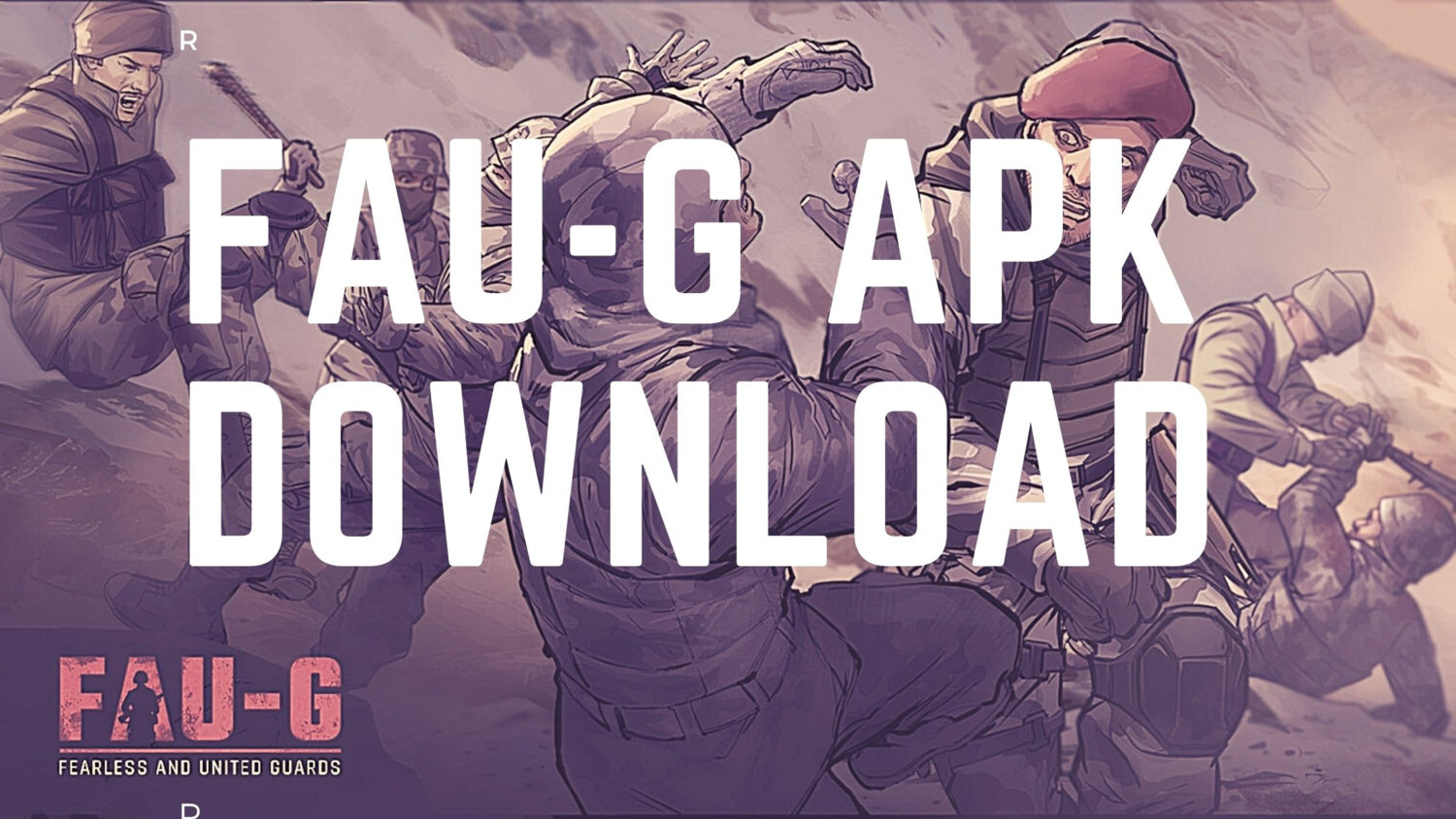 Download FAU-G APK officially from Google Play Store