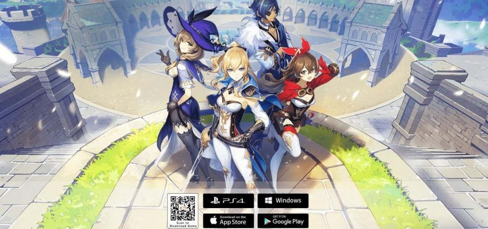 Genshin Impact download