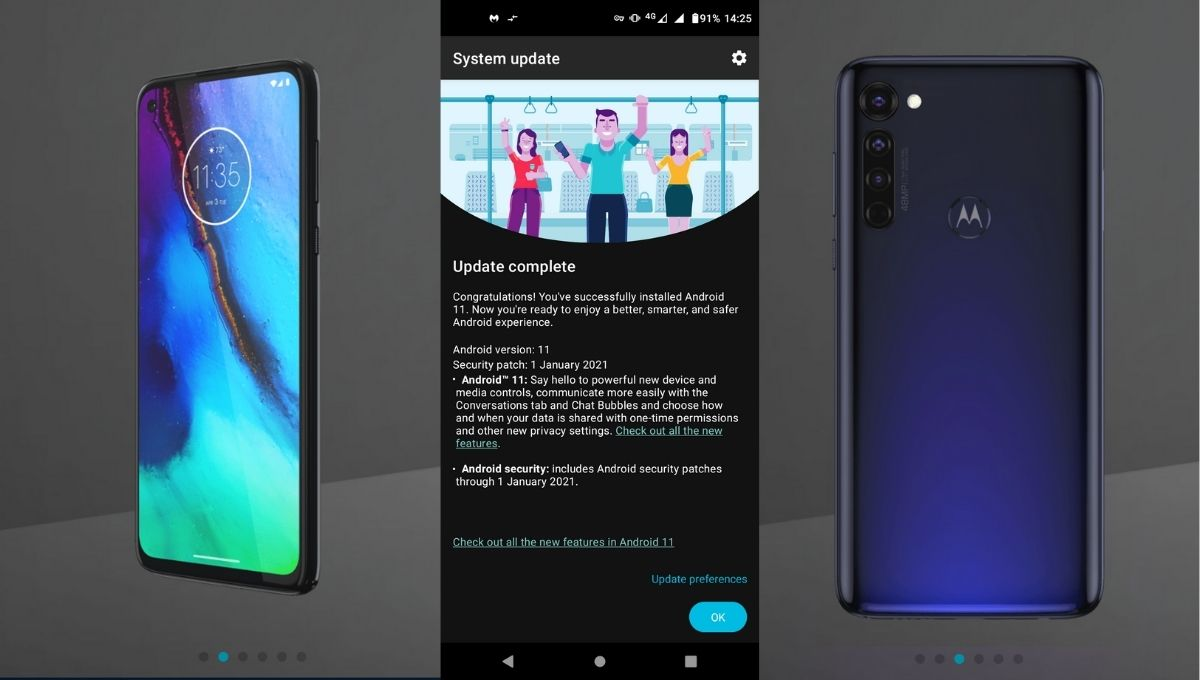 moto g pro android 11