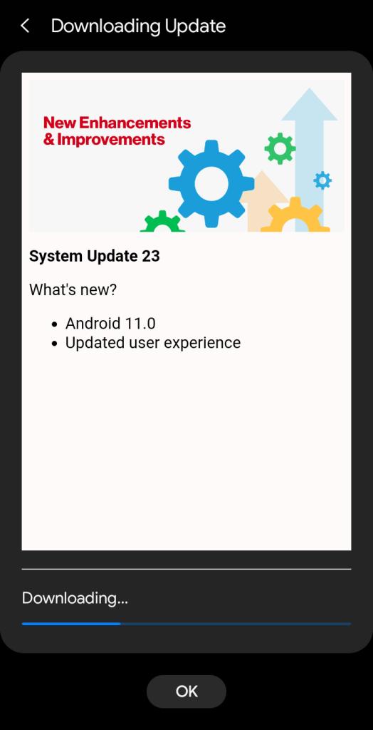 Verizon Galaxy S10 Android 11 ota update with One UI 3