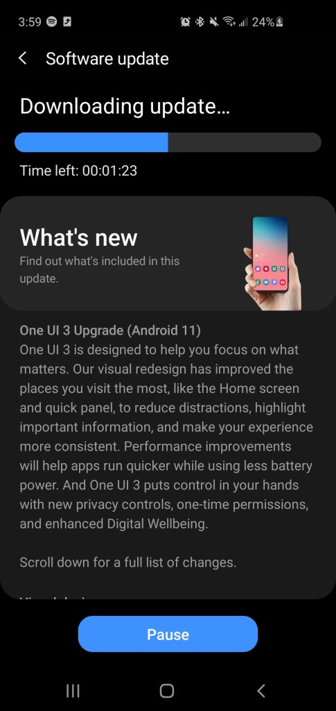 one ui 3 for snapdragon galaxy s10